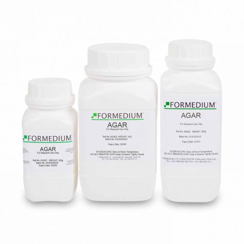 Agar powder for microbiology