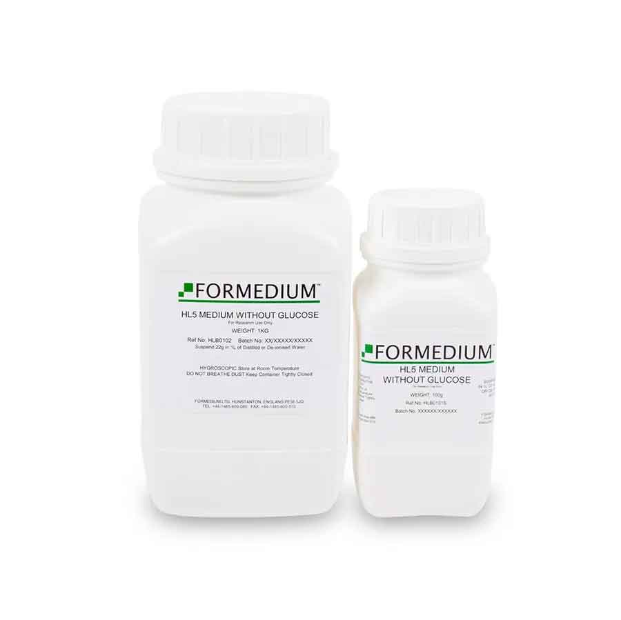 HL5 Medium without Glucose | Formedium Powdered Media