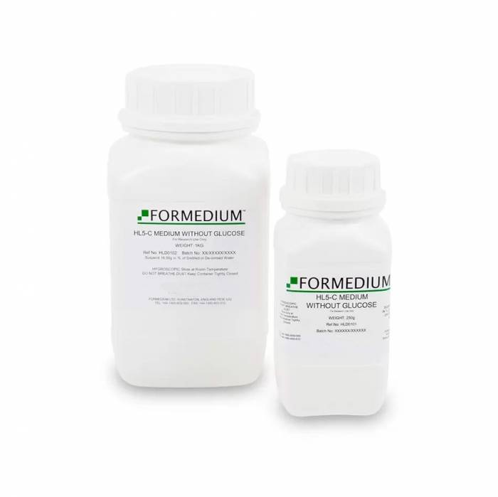 HL5-C Medium without Glucose | Formedium Powdered Media