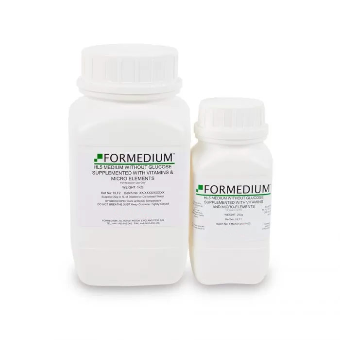 HL5 Medium without Glucose with vitamins & micro-elements   Formedium