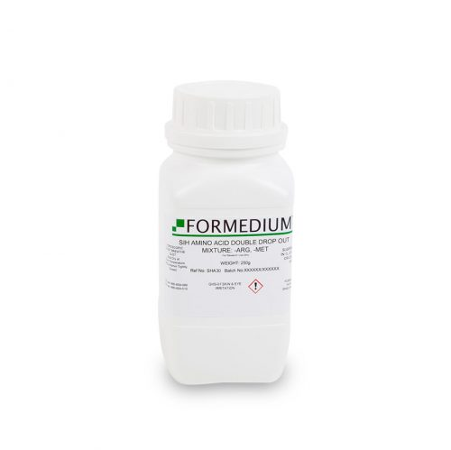SIH drop-out mixture, minus Arginine and w/o Methionine, 8145 mg/l