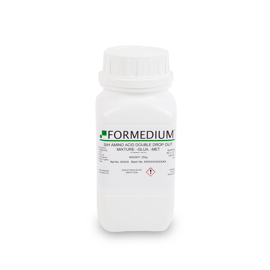 SIH drop-out mixture, minus Glutamic acid and w/o Methionine, 8300 mg/l