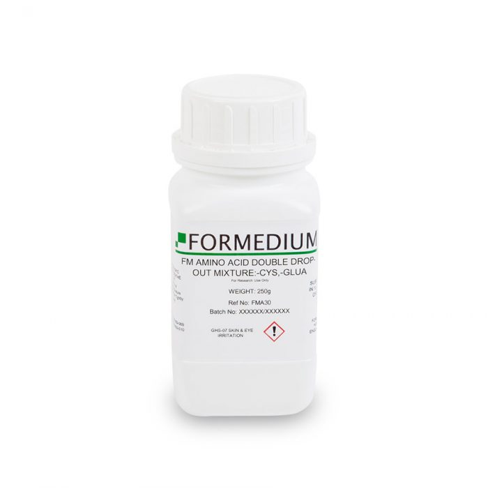 FM drop-out mixture, minus Cysteine and w/o Glutamic acid, 7600 mg/l