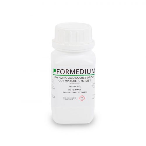 FM drop-out mixture, minus Cysteine and w/o Methionine, 7800 mg/l