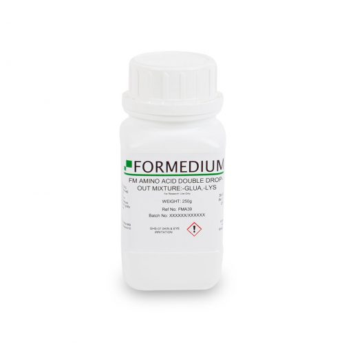 FM drop-out mixture, minus Glutamic acid and w/o Lysine, 6900 mg/l
