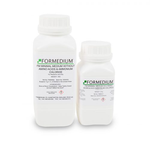 FM Minimal medium w/o Amino acids and w/o Ammonium chloride