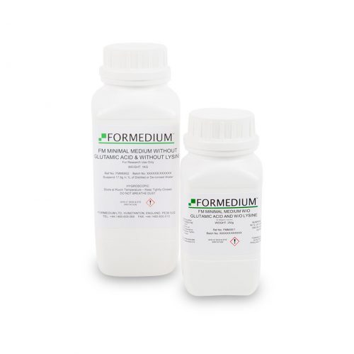 FM Minimal medium w/o Glutamic acid and w/o Lysine