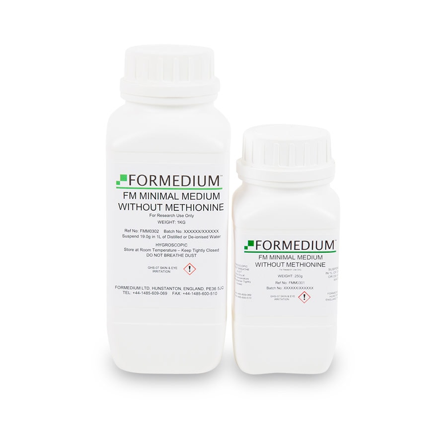FM Minimal medium w/o Methionine