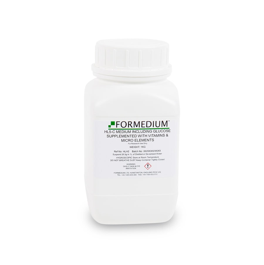 HL5-C Medium including Glucose supplemented with vitamins and micro-elements