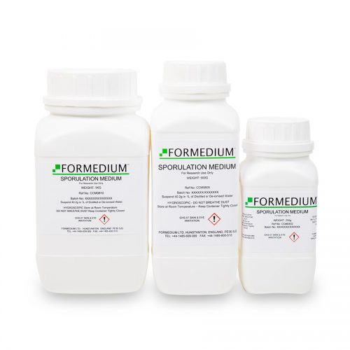 Sporulation Medium