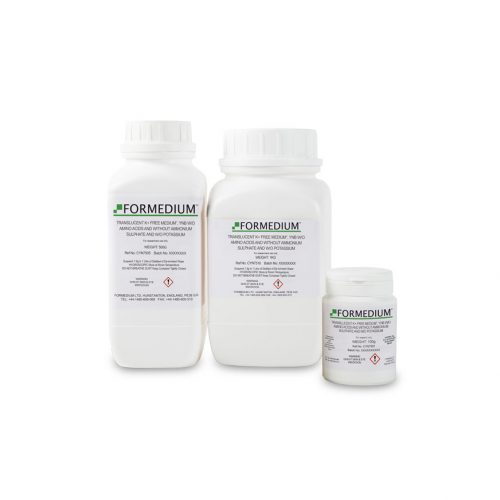"Translucent K+ free medium"", YNB w/o Amino acids and without Ammonium sulphate and w/o Potassium"