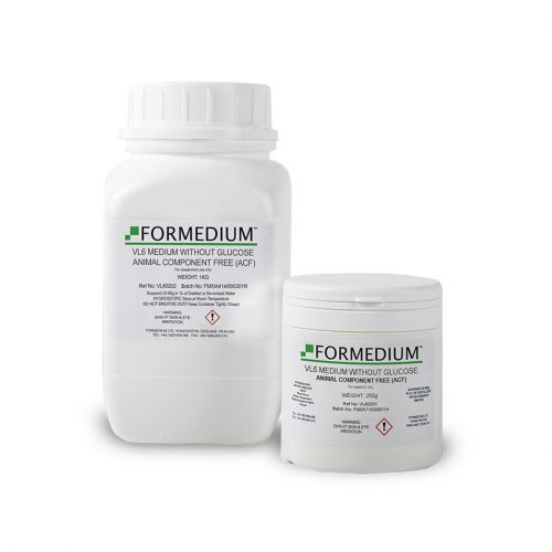 VL6 Medium without Glucose, Animal Component Free (ACF)