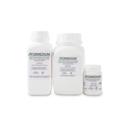 Yeast Nitrogen base without Amino acids, without Ammonium sulphate and without Biotin