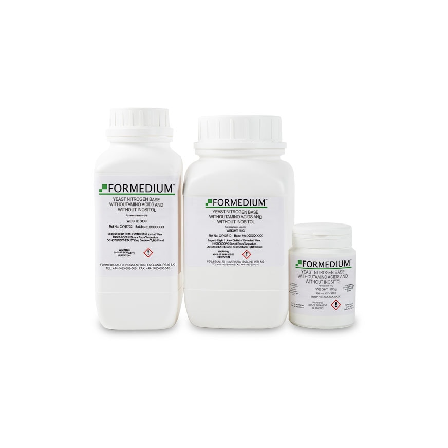Yeast Nitrogen base without Amino acids and without Inositol